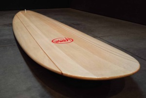 Balsa Wood Longboard