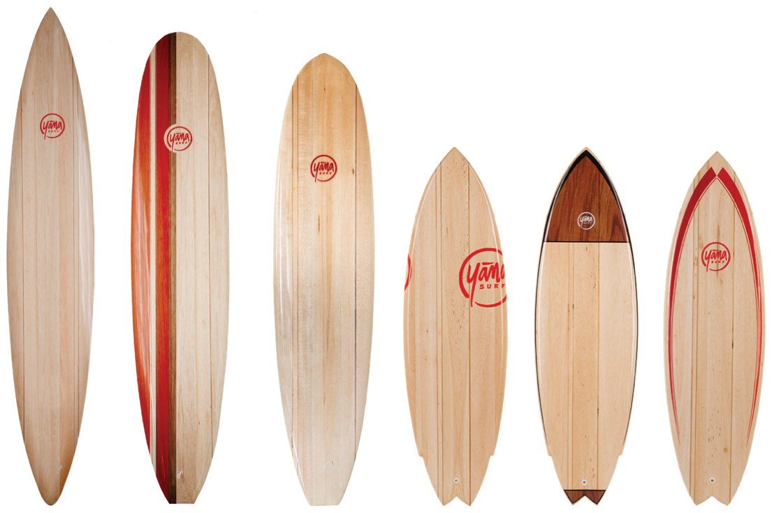 Balsa Wood Surfboards Quiver 2