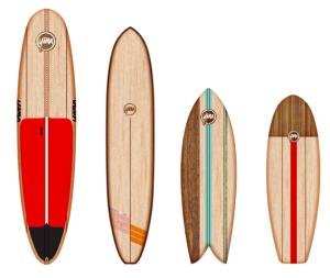 Design Custom, Hand-crafted Wood Surfboard